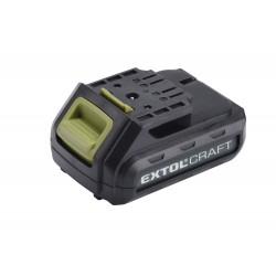 Baterie akumulátorová 12V, Li-ion, 1300mAh EXTOL-CRAFT
