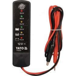 Tester autobaterií LED