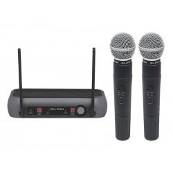 Mikrofon bezdrátový BLOW PRM 902 BLACK sada