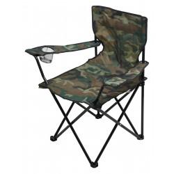 Židle kempingová skládací BARI ARMY