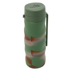 Silikonová láhev ARMY 550ml CATTARA