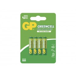 Baterie AAA (R03) Zn-Cl GP Greencell  4ks