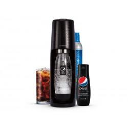 SodaStream sada SPIRIT BLACK Pepsi MegaPack