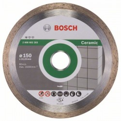 Diamantový dělicí kotouč Standard for Ceramic - 150 x 22,23 x 1,6 x 7 mm - 3165140441315 BOSCH
