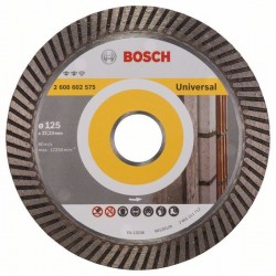 Diamantový dělicí kotouč Expert for Universal Turbo - 125 x 22,23 x 2,2 x 12 mm - 31651405 BOSCH