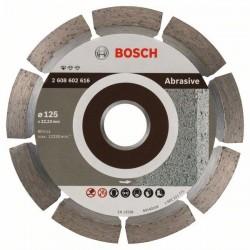 Diamantový dělicí kotouč Standard for Abrasive - 125 x 22,23 x 6 x 7 mm - 3165140581226 BOSCH