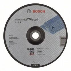Dělicí kotouč profilovaný Standard for Metal - A 30 S BF, 230 mm, 22,23 mm, 3,0 mm BOSCH