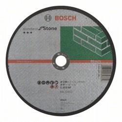 Dělicí kotouč rovný Standard for Stone - C 30 S BF, 230 mm, 22,23 mm, 3,0 mm BOSCH