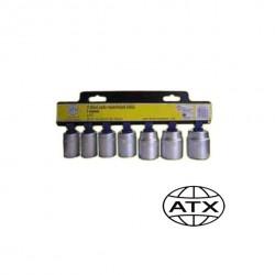 "7 dílná sada nástrčných klíčů 1/2"" ATX"