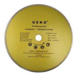Diamantový řezný kotouč, 350x8x32mm GEKO