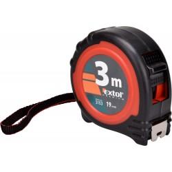 Metr svinovací, 3m, š. pásku 19mm EXTOL-PREMIUM