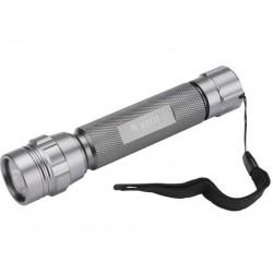 Svítilna kovová s LED žárovkou, LED žárovka o průměru 5mm (30 000mcd) EXTOL-PREMIUM