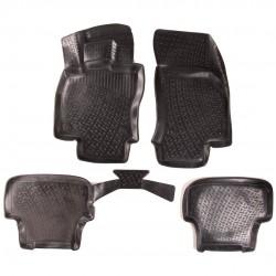 Gumové koberce Audi A3 Sportback (8V) (11/2012-)  (3D) SIXTOL