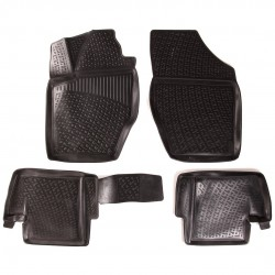 Gumové koberce Citroen C4 II Hatchback (B7) (11/2009-)  (3D) SIXTOL