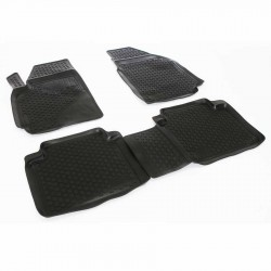 Gumové koberce Hyundai Matrix (FC) (01-10)  (2D) SIXTOL