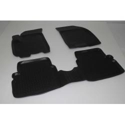 Gumové koberce Chevrolet Aveo I (T200/T250) (02-11)  (2D) SIXTOL