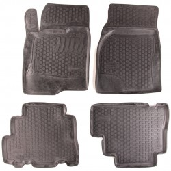 Gumové koberce Chevrolet Captiva (C100/C140) (06-)  (2D) SIXTOL