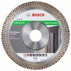 Diamantový dělicí kotouč Best for Hard Ceramic - 125 x 22,23 x 1,4 x 10 mm, BOSCH
