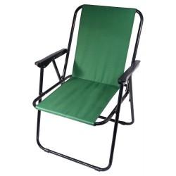 Židle kempingová skládací BERN zelená CATTARA