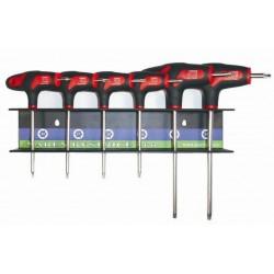 Sada šroubováků TX10,15,20,25,27,30 ve stojánku NAREX 851002
