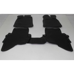 Gumové koberce Mazda BT-50 I (J97M) (06-11)  (2D) SIXTOL
