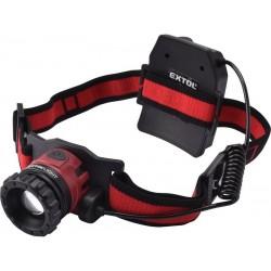 Čelovka 450lm CREE XPL, nabíjecí, USB, 10W CREE XPL, funkce ZOOM EXTOL-LIGHT