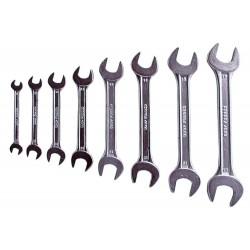 Klíče ploché, sada 8ks, 6x7, 8x9, 10x11, 12x13, 14x15, 16x17, 18x19, 20x22mm EXTOL-CRAFT