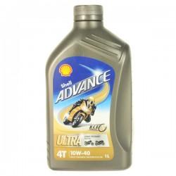Motorový olej Advance  Ultra 4T  10w-40 1L SHELL