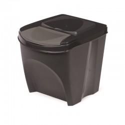 Odpadkový koš SORTIBOX ANTRACIT 392X293X335 PROSPERPLAST