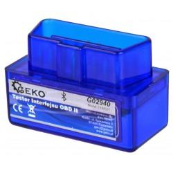 Autodiagnostika ELM 327 bluetooth modrá, Android (zdarma SX OBD aplikace) GEKO