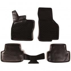 3D Gumové koberce SEAT Leon, 2012-,, Typ 5F SIXTOL