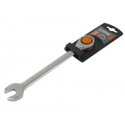 Klíč ráčnový očkoplochý, 45 zubů, 19mm, CrV EXTOL-PREMIUM