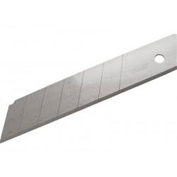 Břity ulamovací do nože, 25mm, 10ks EXTOL-PREMIUM