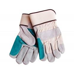 """Rukavice kožené silné s podšívkou v dlani, 10"""", velikost 10"""" EXTOL-CRAFT"""
