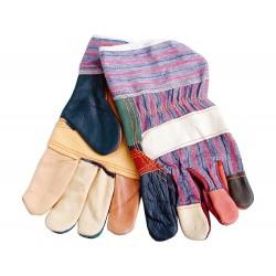 """Rukavice kožené s vyztuženou dlaní, 10"""", velikost 10"""" EXTOL-CRAFT"""