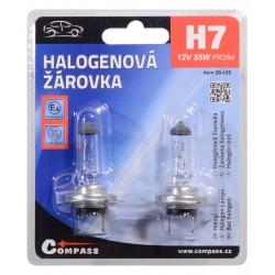 Žárovka 12V  H7  55W PX26d blister 2ks