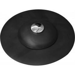 Výpusť umyvadlová silikonová s filtrem černá