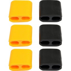 Spony na kabely TPR,25x25x10mm,6ks