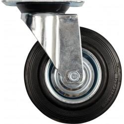 Kolečko otočné, gumové 40kg 75/23/97mm