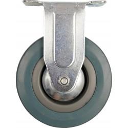Kolečko pevné, gumové  30kg 75/21/104mm