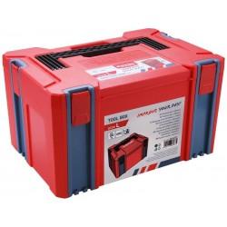 Box plastový, L velikost, rozměr 443x310x248mm, ABS EXTOL-PREMIUM