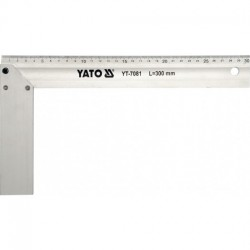 Truhlářský úhelník hliníkový 350mm