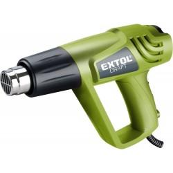 Pistole horkovzdušná, 2000/1000W, 550/350°C, 411013 EXTOL-CRAFT
