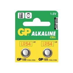 Baterie LR54 (189) GP alkalická
