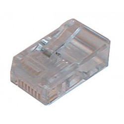 Konektor telefonní kabel 4p-4c RJ10