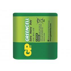 Baterie 3R12 (4.5V-plochá) GP Greencell