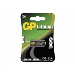Baterie CR123A GP lithiová (foto)