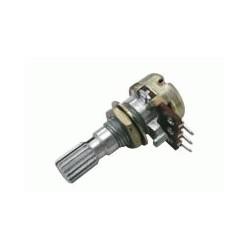 Potenciometr 500K/N  mono  6/205mm