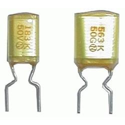Kondenzátor svitkový  22N/50V  AMZV  rm5   C
