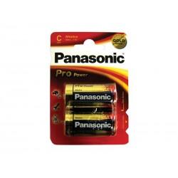 Baterie C (R14) alkalická PANASONIC Pro Power LR14 (blistr 2ks)